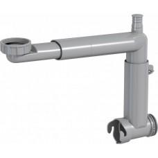 Додатковий сифон PREVEX Smartloc з накидною гайкою, телескопічний