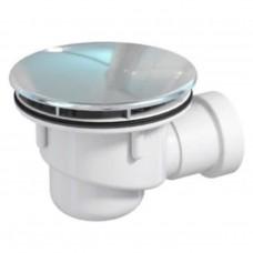 Сифон Prevex для душового піддону d90мм, вихід зливу d40, пластик, хром