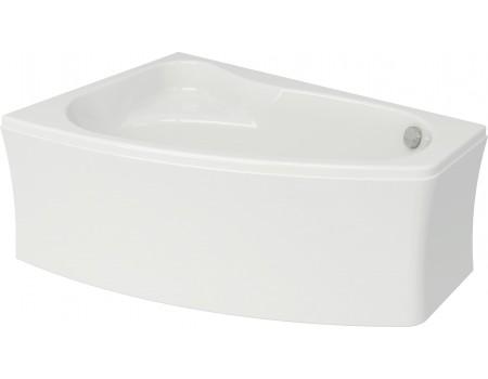 Ванна асиметрична SICILIA NEW 160 X 100 ліва з кріпленням
