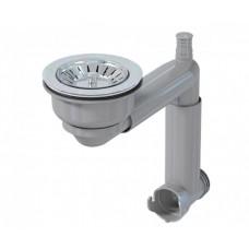 Додатковий сифон PREVEX Smartloc з чашею d114, телескопічний